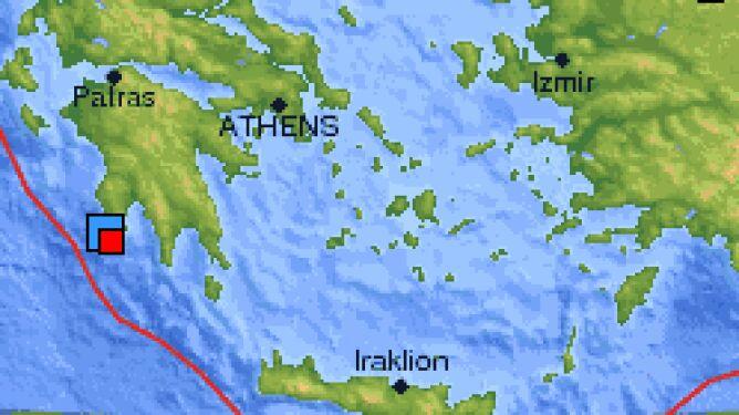 Porządnie zatrzęsło Grecją