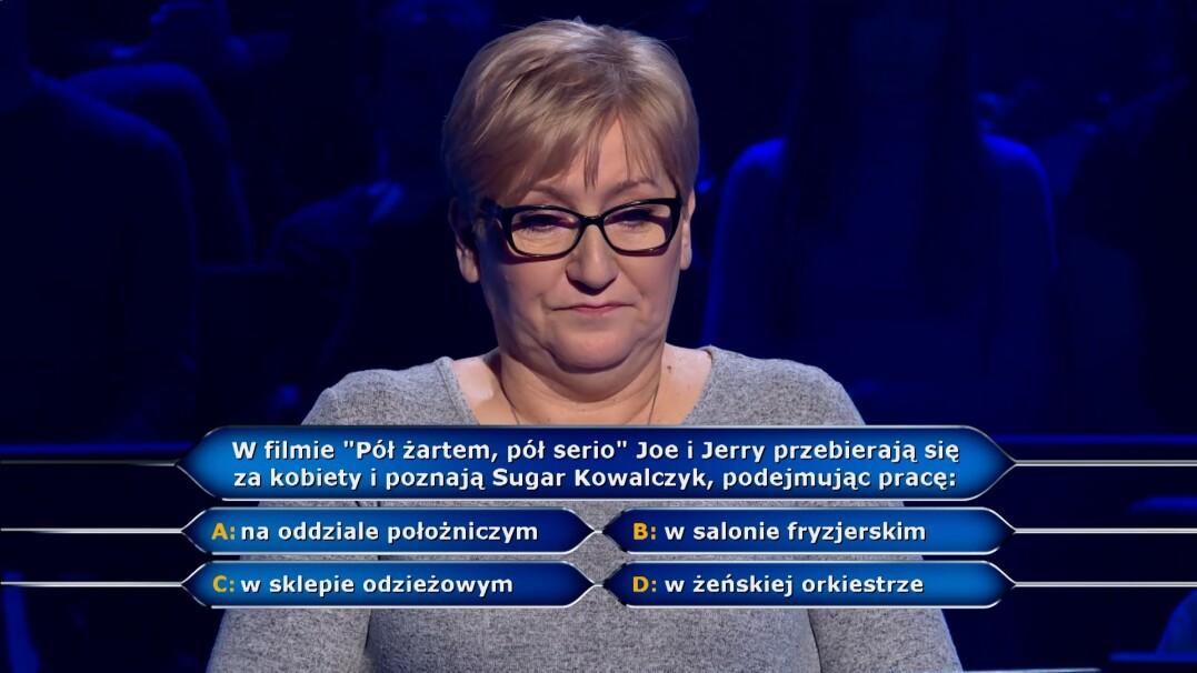 """""""Milionerzy"""": filmowe pytanie za 40 tysięcy złotych"""