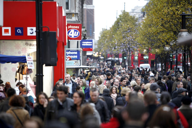 Oxford Street w Londynie Rosli Othman / Shutterstock.com