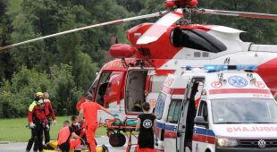 Wypadek w Tatrach (PAP/Grzegorz Momot)