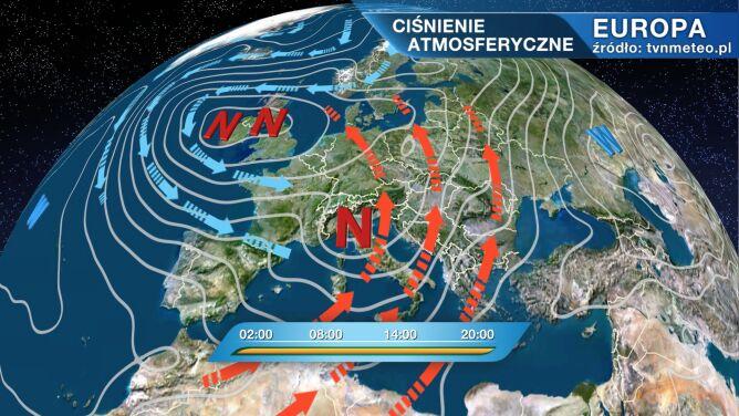 Zed rządzi pogodą w Polsce