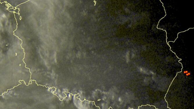 Wieczorem burze uciekły z Polski