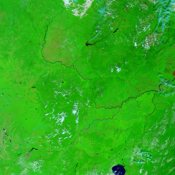 Amur 21 sierpnia 2008 roku (NASA)