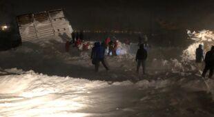 W pobliżu Norylska w Rosji zeszła lawina