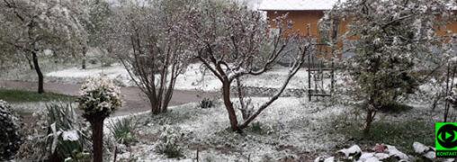 """""""Zima w maju... Pogoda zwariowała"""""""